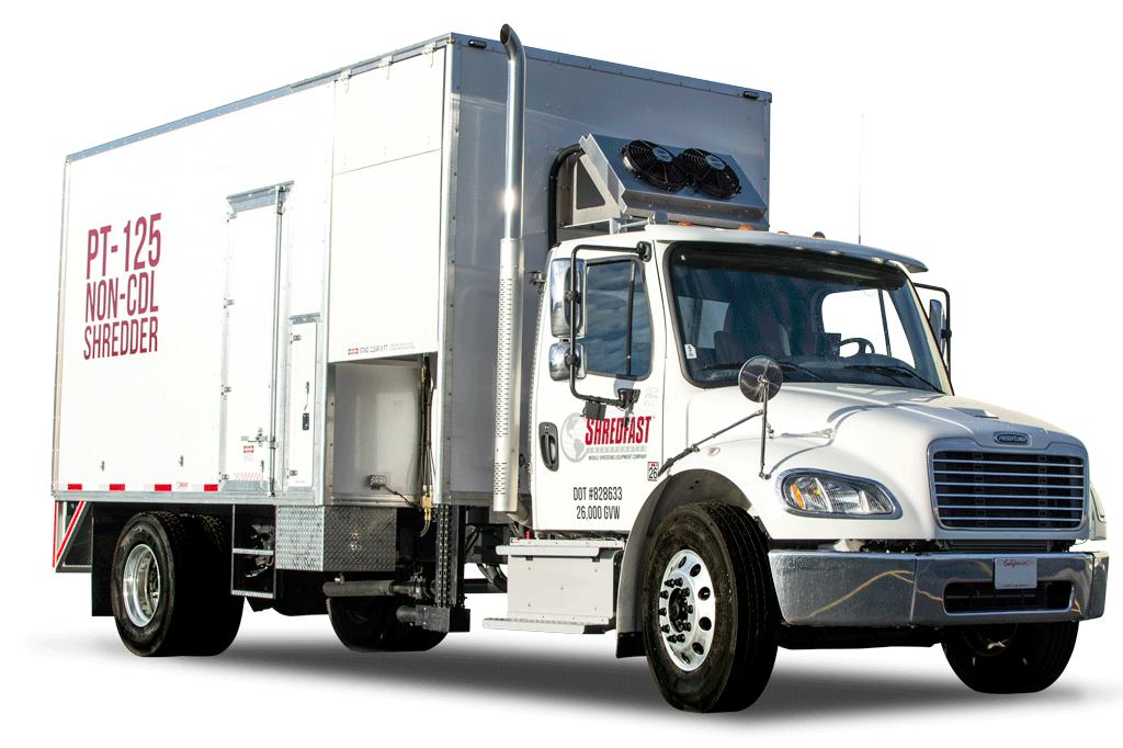 PT-125 Shredding Truck